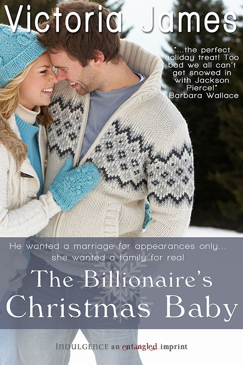 The Billionaire's Christmas Baby-Victoria James
