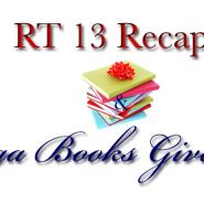 RT13 Recap and Mega 45 Books Giveaway!