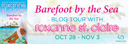 Spotlight & Giveaway: Barefoot by the Sea by Roxanne St. Claire
