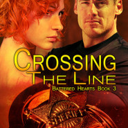 REVIEW:  Crossing the Line (Battered Hearts #3) by Kele Moon