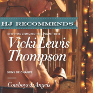 REVIEW: Cowboys & Angels by Vicki Lewis Thompson