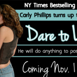 Spotlight & Giveaway: Dare to Love by Carly Phillips