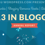 2013 Year in Blogging #Giveaway!