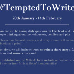 #TemptedToWrite: Mills & Boon competition