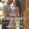 REVIEW: What a Rancher Wants by Sarah M. Anderson