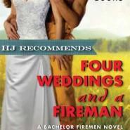 REVIEW: Four Weddings and a Fireman by Jennifer Bernard