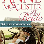 REVIEW: Last Years Bride by Anne McAllister