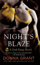 Spotlight & Giveaway: Night's Blaze by Donna Grant