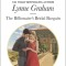 REVIEW: The Billionaire's Bridal Bargain by Lynne Graham