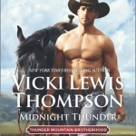 REVIEW: Midnight Thunder (Thunder Mountain Brotherhood #1) by Vicki Lewis Thompson
