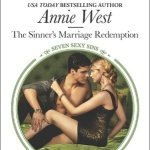 Spotlight & Giveaway: The Sinner's Marriage Redemption by Annie West