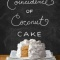 Spotlight & Giveaway: The Coincidence of Coconut Cake by Amy E. Reichert