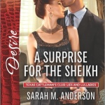 REVIEW: A Surprise for the Sheikh by Sarah M. Anderson