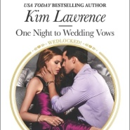 REVIEW: One Night to Wedding Vows by Kim Lawrence