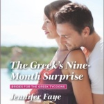 Spotlight & Giveaway: The Greek's Nine-Month Surprise by Jennifer Faye
