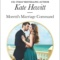 Spotlight & Giveaway: Moretti's Marriage Command by Kate Hewitt