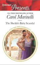 Spotlight & Giveaway: The Sheikh's Baby Scandal by Carol Marinelli