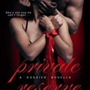 Spotlight & Giveaway: Private Reserve by Cathryn Fox