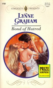 REVIEW: Bond of Hatred by Lynne Graham