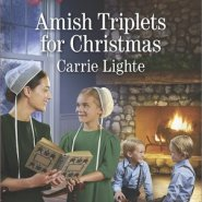 REVIEW: Amish Triplets for Christmas by Carrie Lighte