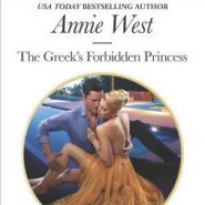 Spotlight & Giveaway: The Greek's Forbidden Princess by Annie West