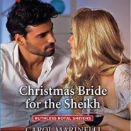 REVIEW: Christmas Bride for the Sheikh by Carol Marinelli