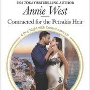 REVIEW: Contracted for the Petrakis Heir by Annie West