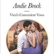REVIEW: Vieri's Convenient Vows by Andie Brock