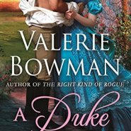 Spotlight & Giveaway: A Duke Like No Other by Valerie Bowman