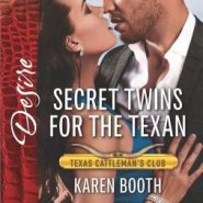 REVIEW: Secret Twins for the Texan by Karen Booth
