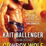 Spotlight & Giveaway: Cowboy Wolf Trouble by Kait Ballenger
