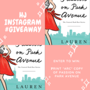 INSTA #Giveaway: Passion on Park Avenue by Lauren Layne