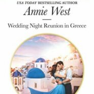 Spotlight & Giveaway: Wedding Night Reunion in Greece by Annie West
