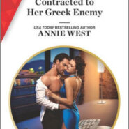 Spotlight & Giveaway: Contracted to Her Greek Enemy by Annie West