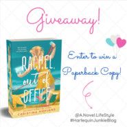 Instagram #Giveaway: RACHEL, OUT OF OFFICE