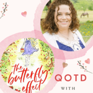 #Giveaway: SIGNED copy of BUTTERFLY EFFECT