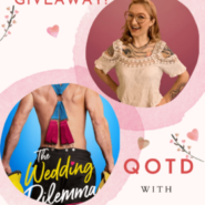 QOTD Spotlight and #Giveaway with author Mariah Ankenman